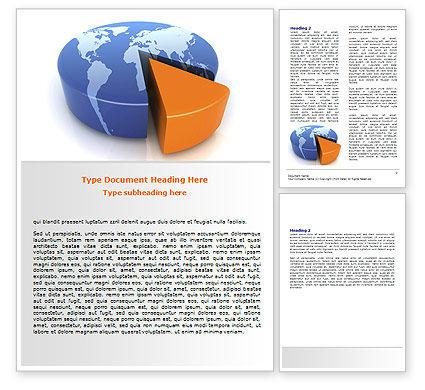 3D Diagram Word Template, 06511, Consulting — PoweredTemplate.com
