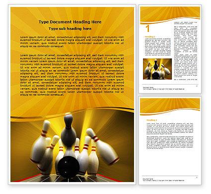 Fallen Skittles Word Template, 06514, Business Concepts — PoweredTemplate.com