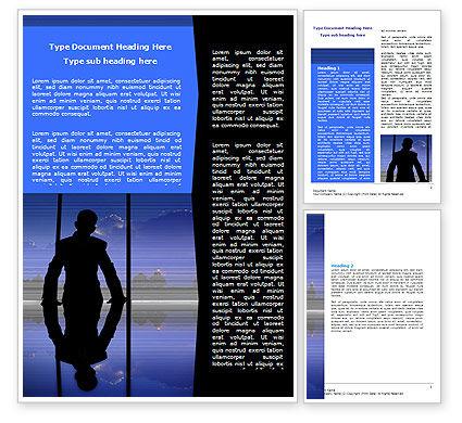 Chief Word Template, 06519, Business — PoweredTemplate.com
