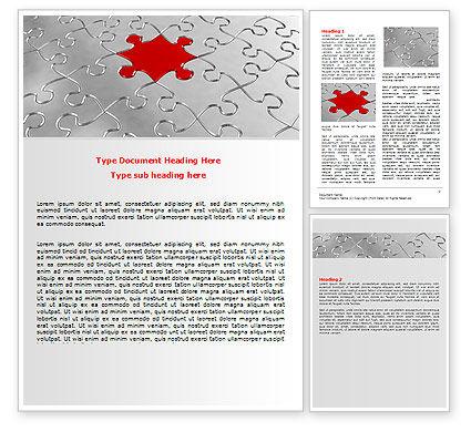 Abstract/Textures: Modelo do Word - puzzle peça principal #06640
