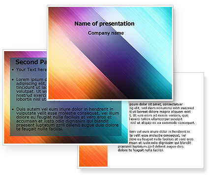 abstract powerpoint templates free. Abstract Rainbow PowerPoint