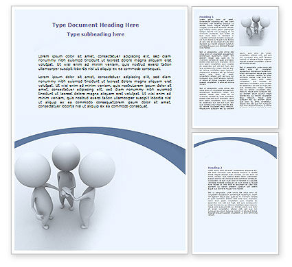 Arrangement Word Template, 06771, Consulting — PoweredTemplate.com