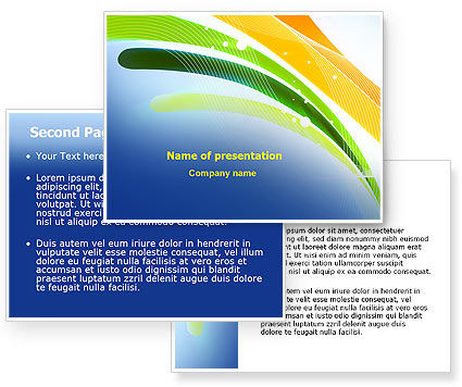 yellow background powerpoint. Yellow Touch Background
