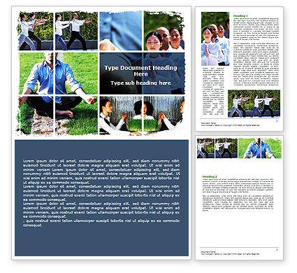 Oriental Medicine Word Template, 06809, Religious/Spiritual — PoweredTemplate.com