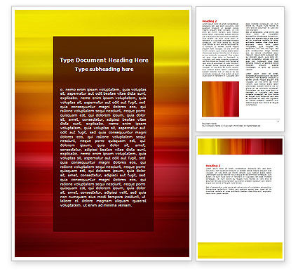 Abstract/Textures: Red and Yellow Word Template #06838