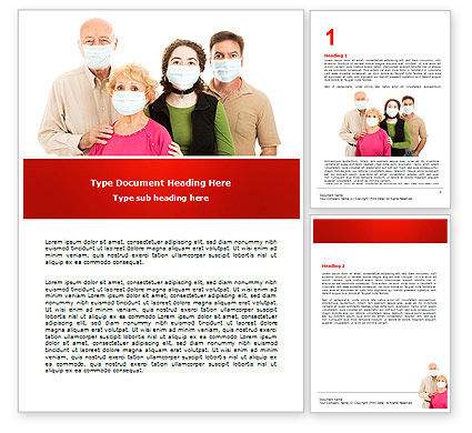 Medical: Epidemic Precautions Word Template #06902