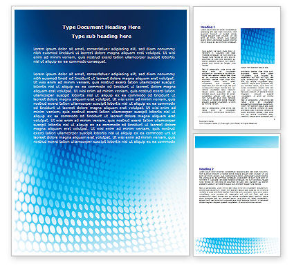 Abstract/Textures: Blue Grid Background Word Template #06973