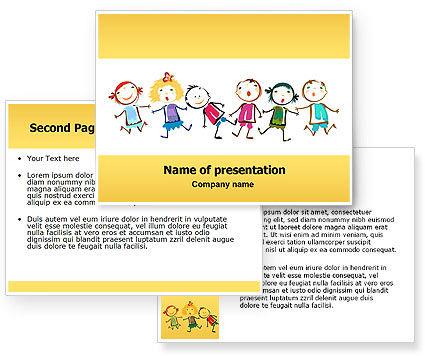 new tattoo style powerpoint templates for kids
