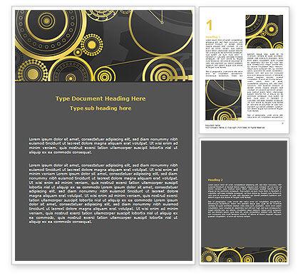 Consulting: 워드 템플릿 - 시침 메커니즘 #07108