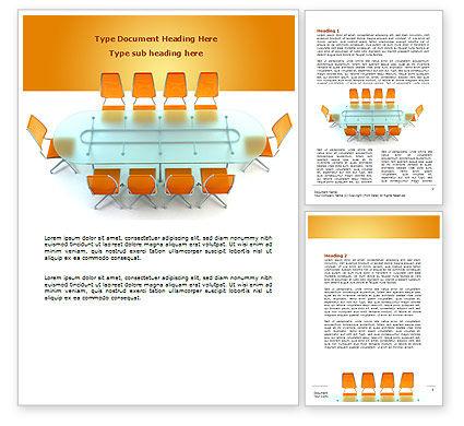 Business: Templat Word Ruang Konferensi #07171