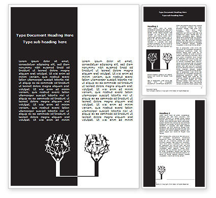 Manipulation Word Template, 07201, Consulting — PoweredTemplate.com