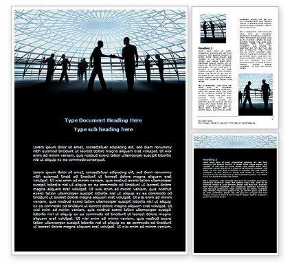 Communication Tips Word Template, 07234, Business — PoweredTemplate.com
