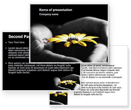 flower backgrounds for powerpoint. Blooming Flower PowerPoint