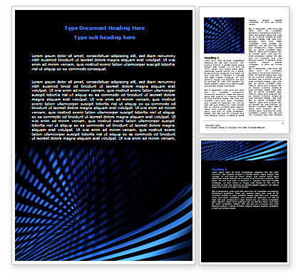 Abstract/Textures: Intersecting Lines Word Template #07265