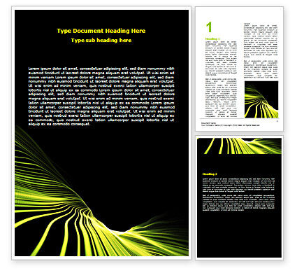 Abstract/Textures: Surface Mapping Word Template #07324