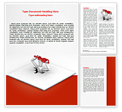 Getting Out Word Template, 07362, Consulting — PoweredTemplate.com