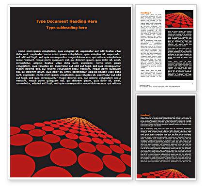 Abstract/Textures: Templat Word Red Bertitik Jalan #07422