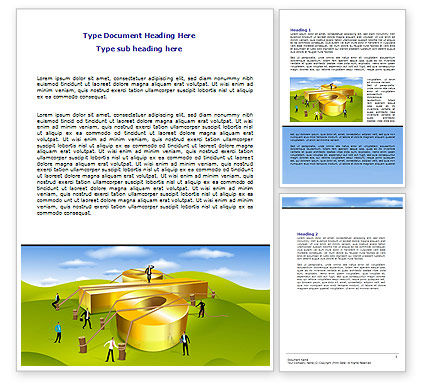 Interest Rate Word Template, 07638, Financial/Accounting — PoweredTemplate.com