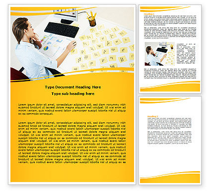 Memo Word Template, 07656, Consulting — PoweredTemplate.com