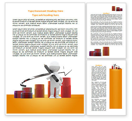 Growth Evaluation Word Template, 07718, Consulting — PoweredTemplate.com