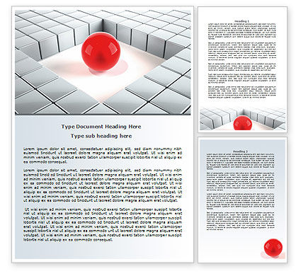 Business Concepts: Surrounded Word Template #07759
