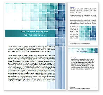 Abstract/Textures: Abstraktes geometrisches muster Word Vorlage #07804