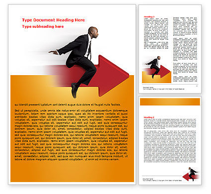 Business Concepts: Follow Direction Word Template #07805