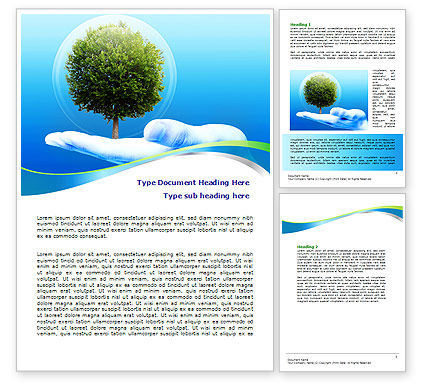 Tree Protection Word Template, 07951, Nature & Environment — PoweredTemplate.com