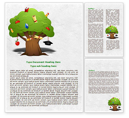 Education Tree Word Template