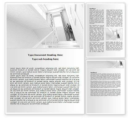 3D Interior Modeling Word Template