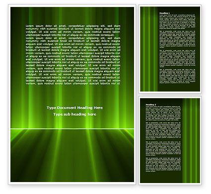 Abstract/Textures: Green Horizon Word Template #08095