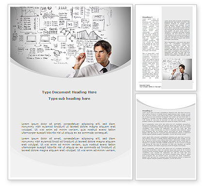 Business Success Planning Word Template, 08235, Consulting — PoweredTemplate.com