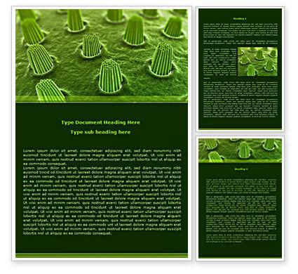 Ear Cells Word Template, 08246, Medical — PoweredTemplate.com