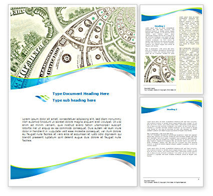 Hundred Dollar Bill Word Template