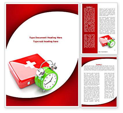 Medical Emergency Word Template, 08280, Medical — PoweredTemplate.com