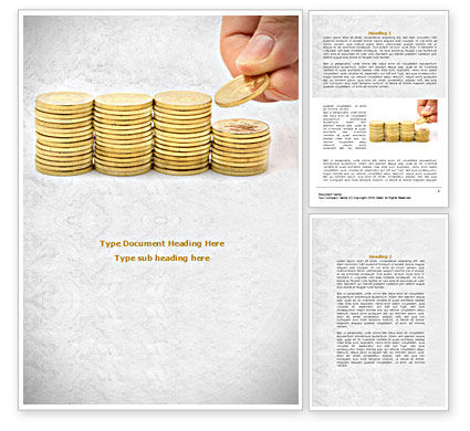 Money Saving Word Template