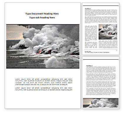 Nature & Environment: Earthquake Word Template #08485