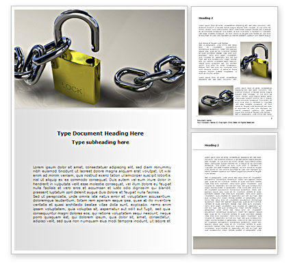 Security Guarantee Word Template, 08594, Consulting — PoweredTemplate.com