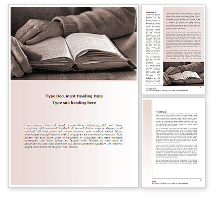 Bible Study Word Template