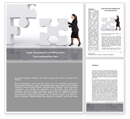 New Decision Word Template, 08621, Consulting — PoweredTemplate.com