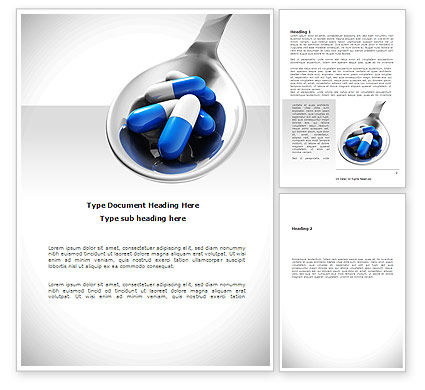 Business Concepts: Pharmacology Word Template #08643