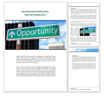Right Way Word Template, 08653, Consulting — PoweredTemplate.com