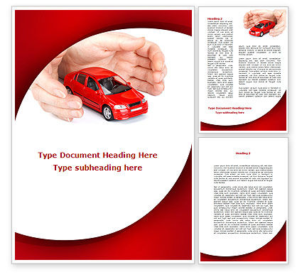 Private Car Insurance Word Template