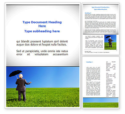 Consulting: Good Business Conditions Word Template #08830