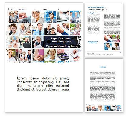 Business: Modèle Word de le personnel de l'entreprise #08870
