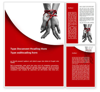 Marital Ties Word Template