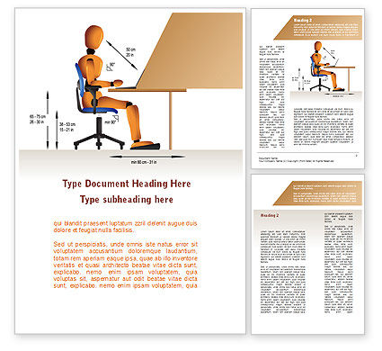 Ergonomics Word Template