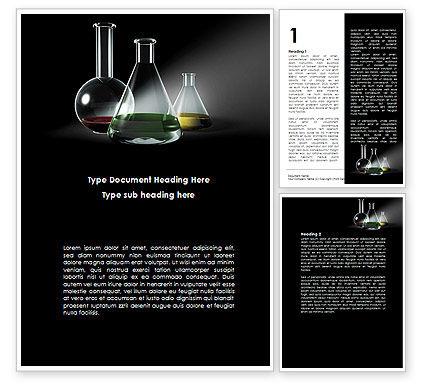Retorts Word Template, 08979, Technology, Science & Computers — PoweredTemplate.com