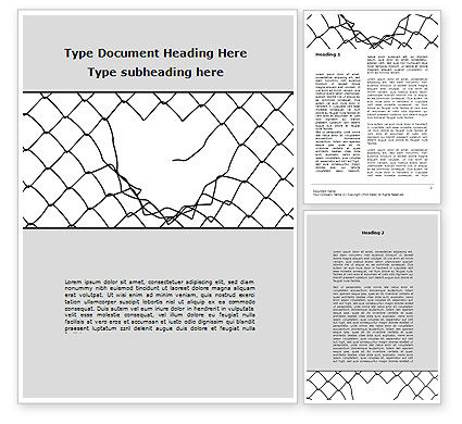 Abstract/Textures: Breakthrough The Net Word Template #09102