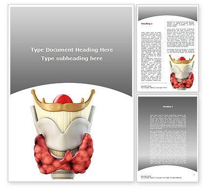 Thyroid Word Template